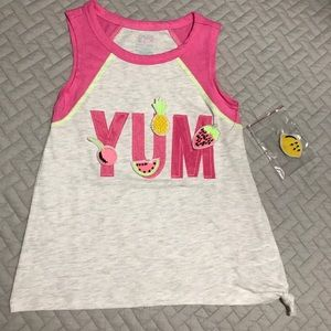NWT Girls GAP Pink Ruffled Sleeves Tank New Never used. Girl s tank Top  Back to School ... 0dcfcb241